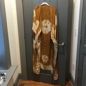 free people tie dye kimono one size fits all